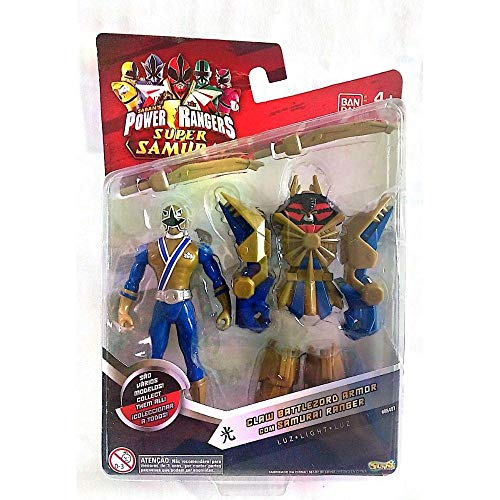 Saban's Power Rangers Super Samurai Claw Battlezord Armor With 4 Light Ranger by Bandai