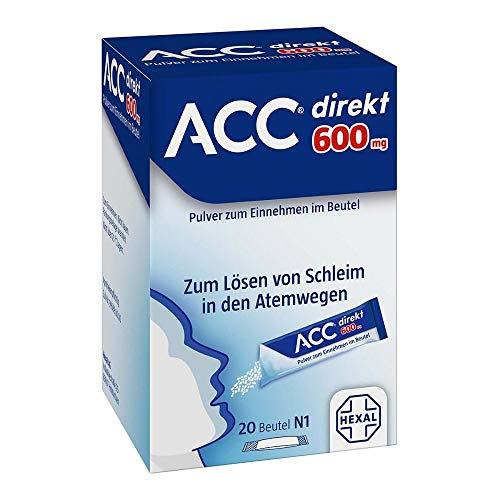 ACC direkt 600 mg Pulver zum Einnehmen im Beutel, 20 St