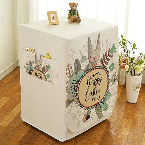 Qingsb Animal Print PEVA Zonnebrandcrème Wasmachine Stofkap Waterdichte beschermer, veelkleurig 6, M