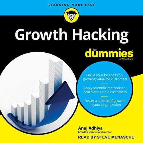 Couverture de Growth Hacking for Dummies