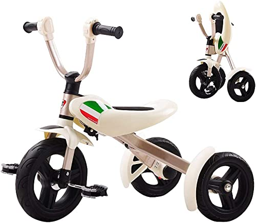 Todos los productos obtienen hasta un 34% de descuento. GYF GYF GYF Triciclo para Niños Triciclo Evolutivo Triciclo Plegable con Asiento Triciclo para Niños De 10 hasta 36 Meses rojoblanco 71X50X62CM ( Color   blanco )  Envío y cambio gratis.