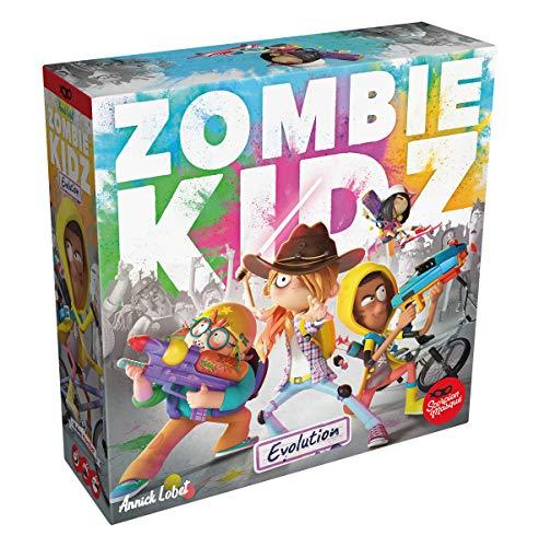 Asmodee Zombie Kidz Eovlution, Legacyspiel, Familienspiel, Deutsch