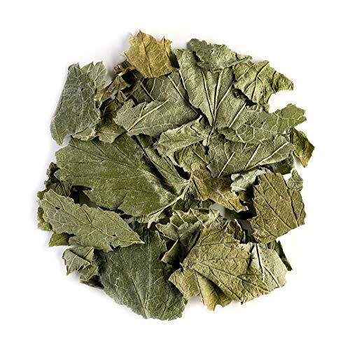 Johannis Beere Blätter Tee Bio – Vorzüglich zu Desserts – Johannisbeerblätter Ribes Nigrum – Johannisbeere Blätter - Himbeere Blätter 50g