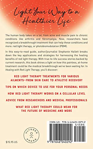 51J9eFjFG8L - Healing with Red Light Therapy: How Red and Near-Infrared Light Can Manage Pain, Combat Aging, and Transform Your Health