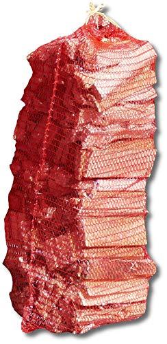 5 Netze = 50dm³ Anzündholz Anmachholz Anfeuerholz Holzstücke Brennholz trocken im Karton Kamin Ofen Feuer Holz Lagerfeuer von Energie Kienbacher (5 Netze)