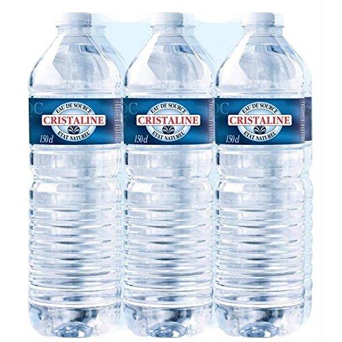 Cristaline eau de source naturelle 6 x 1,5l - Prix Unitaire - Livraison Gratuit En France métropolitaine sous 3 Jours Ouverts