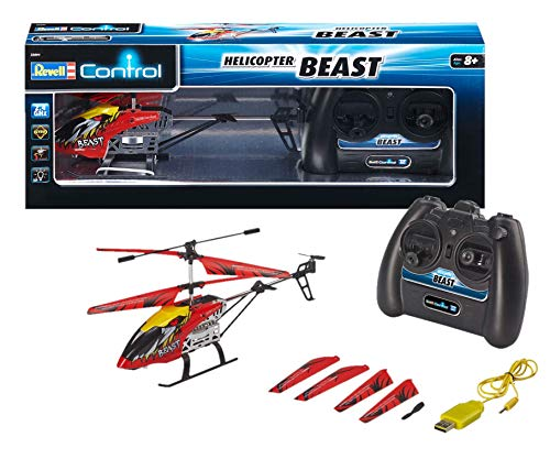 Revell Control RC Hubschrauber, ferngesteuerter Hubschrauber für Einsteiger, 2,4 GHz Fernsteuerung, einfach...