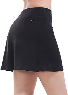Tennis Skorts for Women with Pockets Sports Black Golf Skirts Running Athletic Summer