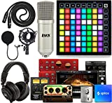 RGB pads match the color of your clips in Ableton Live's session view Illuminated LED pads let you play notes, melodies, and chords on a chromatic keyboard layout Quick, immediate access to your mixer controls Includes a complete software package wit...