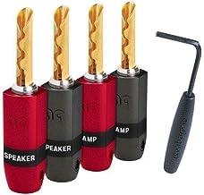AudioQuest SureGrip 300 Banana Connectors BFA Gold - Set of 4