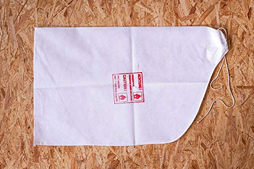 10 x Innensack Sack-in-Sack System (Vlies-Staubsack für Parkettschleifmaschinen) Staubsack Parkett Schleifmaschine – passend für Lägler HUMMEL