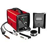 Powerbuilt Mig 90 Amp Flux Core Wire Feed Welder Compact - 240032