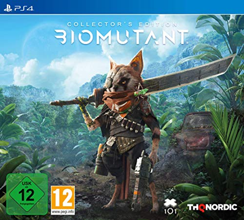 Biomutant Collector's Ed. - Collector's Limited - PlayStation 4
