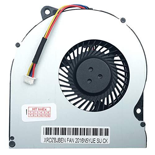 Lüfter Kühler Fan Cooler kompatibel für Asus N53Sn, N53SM, N73J, PRO7BS, K73, N53, N73, N75, N73S, N73SV, K73SM, N75SF, N75SL, N75S, N53JF