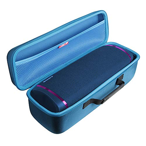 Hermitshell Hard Travel Case for Sony SRS-XB43 Black Bluetooth Portable Bass Boosted Speaker (Blue)