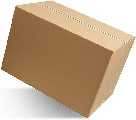 10 pezzi SCATOLA DI CARTONE imballaggio spedizioni 60x40x40cm scatolone avana