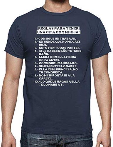 latostadora Camiseta Reglas para Tener una Cita con mi Hija