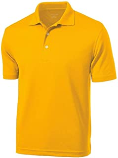Amazon.com: Men's Sports Polo Shirts - Gold / Polo Shirts / Shirts ...