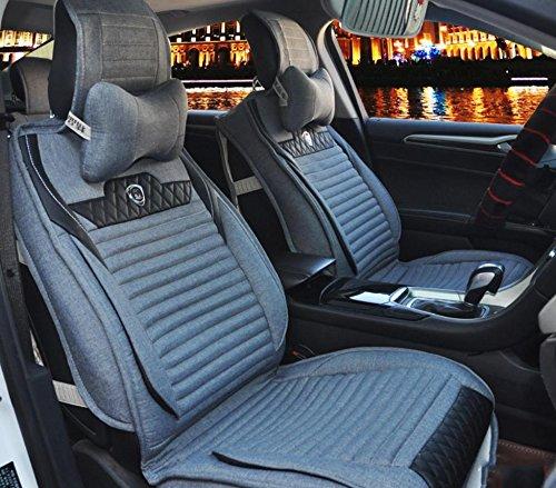 AMYMGLL Coussin de voiture Général Couverture Linge Édition Deluxe (8SET) Pad Universal Car Cover Four Seasons Universal 4 Couleurs options , 2