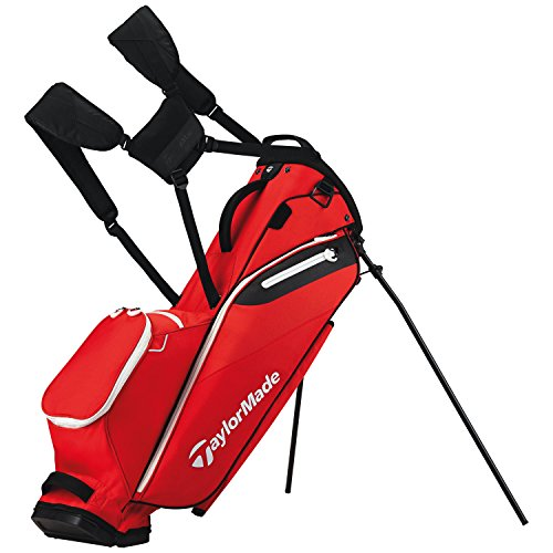 TaylorMade Men's FlexTech Lite Golf Club Bags, Grey/Red, One Size