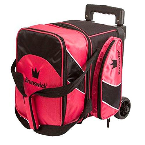 Brunswick Edge Single Roller Bowling Bag, Pink