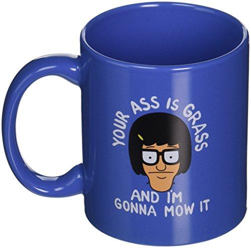 Bob's Burgers A Is Grass Tina Belcher Coffee Mug