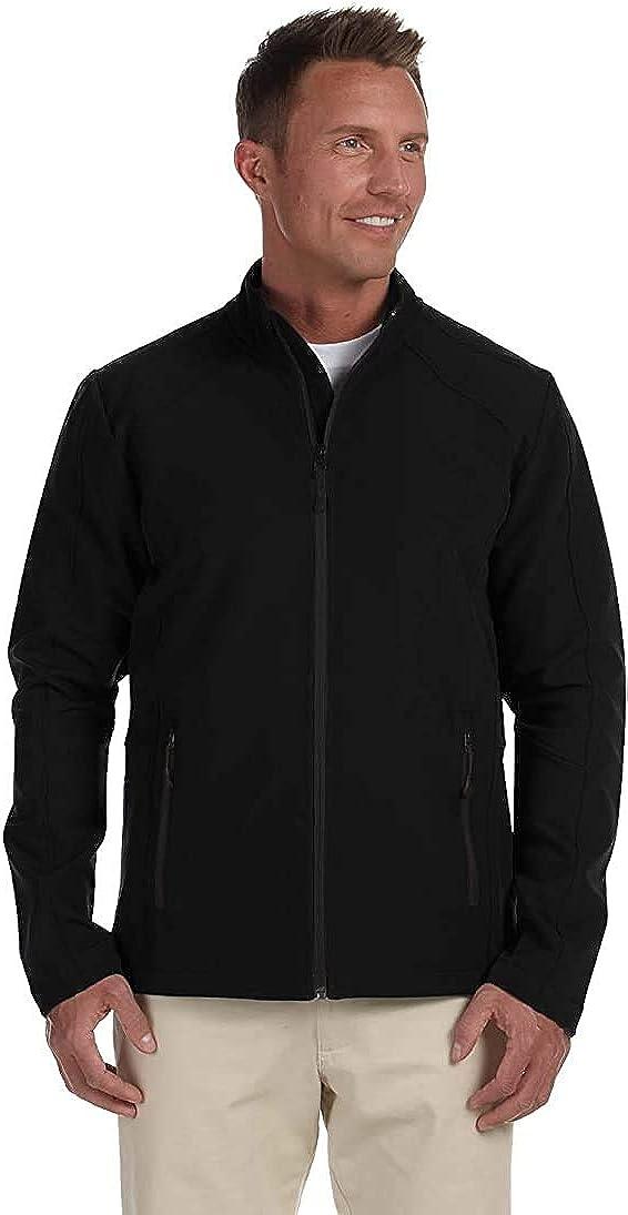 Devon & Jones Men's Jacket Light Double Layer Rain Water Resistant Windbreaker Light Weighted Men's Jacket