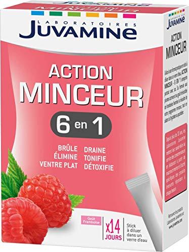 Juvamine - 6 acciones adelgazamiento global, 14 barras