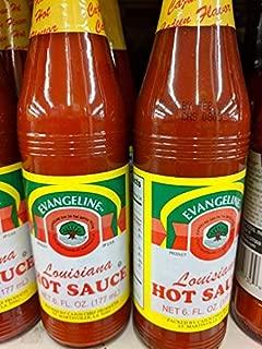 Evangeline Louisiana Hot Sauce 6 oz (6 Pack)