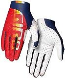 Giro Trixter 2021 - Guantes de Ciclismo (Talla M, 8), Color Rojo y Azul