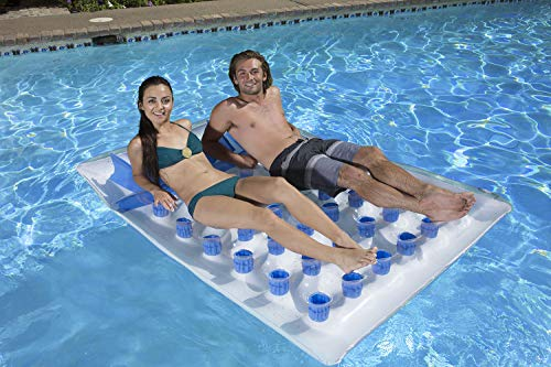 Poolmaster Double French Pocket Swimming Pool Mattress Float Loung