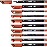 Marcatore - STABILO OHPen universal Permanente - Tratto Fine (0,7 mm) - Confezione da 10 -...