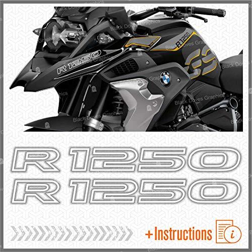 2pcs Adhesivo R1250 Compatible con BMW Motorrad R1250 GS Adv