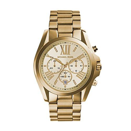 Michael Kors Orologio Cronografo Quarzo Donna con Cinturino in Acciaio Inossidabile MK5605