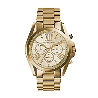 Michael Kors Reloj Cronógrafo para Mujer de Cuarzo con Correa en Acero Inoxidable MK5605 (B006IWDWGS) | Amazon price tracker / tracking, Amazon price history charts, Amazon price watches, Amazon price drop alerts