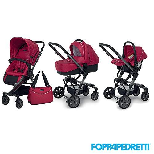 Foppapedretti 9700337234 Trio UP3 Travel System Briliant Red