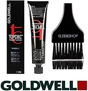 Topchic by Goldwell Goldwell Topchicパーマネントヘアカラー、(なめらかな色合いのカラーブラシで)2.1オンスチューブ 9g非常に軽いゴールドブロンド