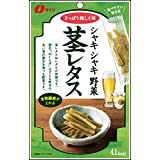 なとり シャキシャキ野菜茎レタス梅しそ味 35g×5袋