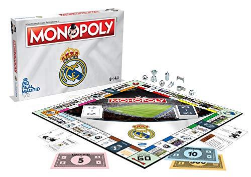 Winning Moves Juego de mesa Monopoly del Real Madrid , color/modelo surtido