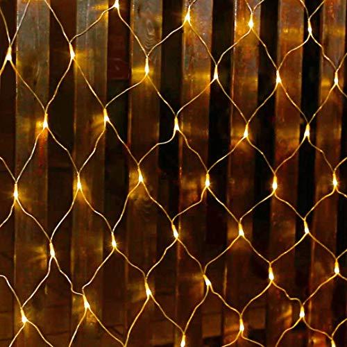 Salcar - Rete di luci a LED, 3 x 2 m, per Natale, feste…