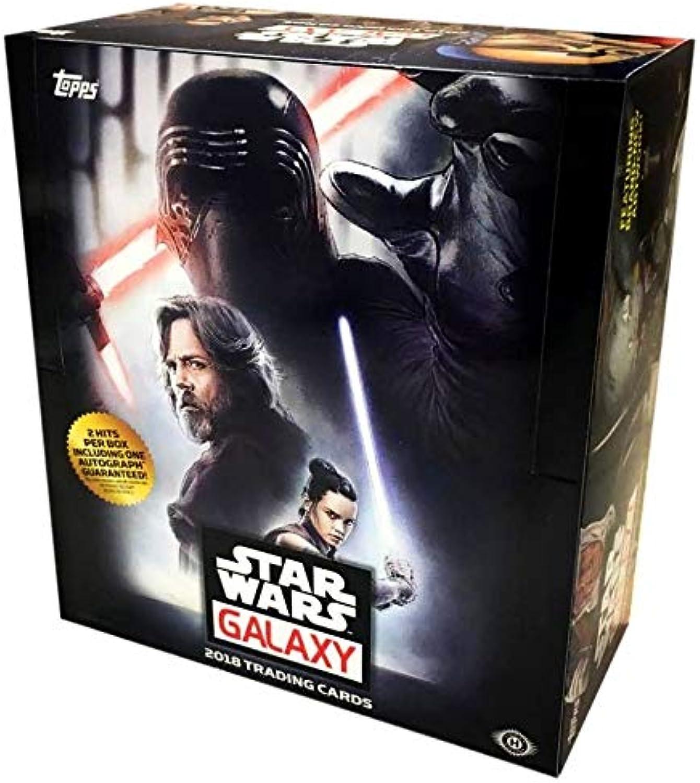 Topps 2018 Star Wars  Galaxy  Hobby Box