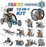 OFUN STEM Solar Robot Kit 12 in 1 Educational Building Toys, 190-Pieces Kit
