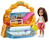 Barbie Club Chelsea Doll and Aquarium Playset, 6-inch Brunette, with Accessories