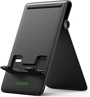 UGREEN Tablet Stand Phone Holder Foldable Portable Mount Compatible for iPad mini 6 iPad 9, iPad Pro 12.9, iPad Mini, Mate...