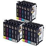 AUBEN 29XL para Epson 29 Cartuchos de Tinta 15 Compatibles con Epson Expression Home XP-255 XP-245...