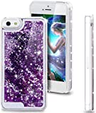 ORAS Glitter Bling Quicksand Liquid Waterfall Girls Soft Silicone Mobile Phone Back Case