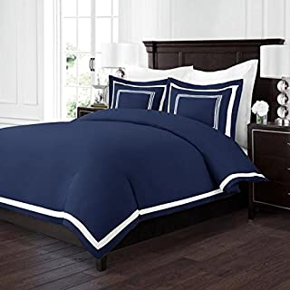 Best navy and white duvet cover set Reviews