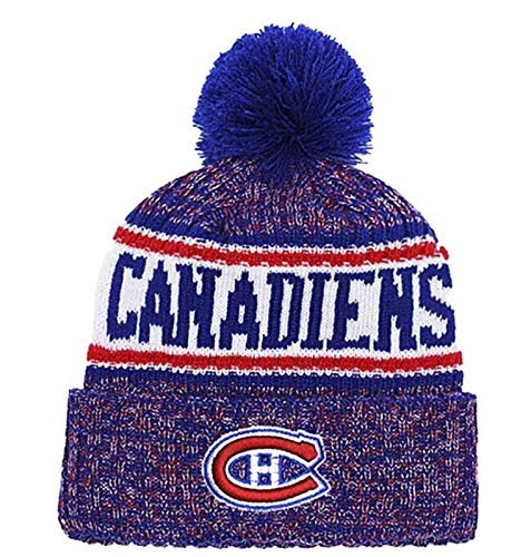 MIAOR NHL Montreal Canadiens Strickmütze Sport Beanie Cap Multicolor Outdoor...