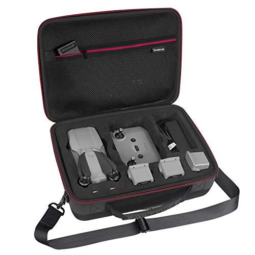 Smatree Bolsa Estuche Rígido Compatible con dji Mavic Air 2 y el Control Remoto dji (el dron y los Accesorios NO están incluidos)