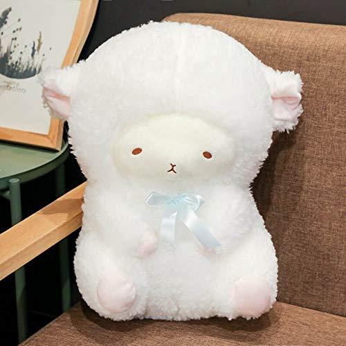 N / A Lucky Boy Sonntag Schlafen Schaf Plüschtier Kuscheltiere Schöne Schaf Plüsch Puppe Baby Kinder Geschenk 30cm